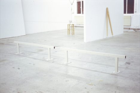 Elisa Caldana, Untitled, 2013, installation view, Städelschule, Frankfurt am Main