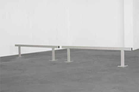 Elisa Caldana, Untitled, 2013,installation view, Städelschule, Frankfurt am Main